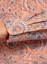Блузка базовая из вискозы oodji #SECTION_NAME# (розовый), 11411136B/26346/5420E - вид 5