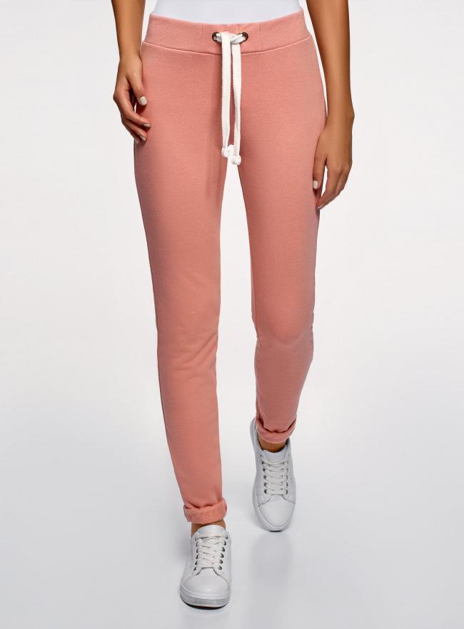 Комплект спортивных брюк (2 пары) oodji #SECTION_NAME# (разноцветный), 16701010T2/46980/5