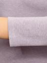 Платье облегающее с вырезом-лодочкой oodji #SECTION_NAME# (фиолетовый), 14017001-6B/47420/8000M - вид 5