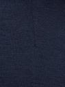 Юбка трикотажная со шлицей oodji #SECTION_NAME# (синий), 24101049-2B/38261/7900N - вид 4