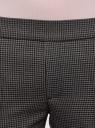 Брюки зауженные на эластичном поясе oodji #SECTION_NAME# (серый), 11703091-7B/22124/2539C - вид 4