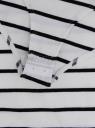 Трикотажная блузка oodji для женщины (белый), 15A00001/45418/1229S