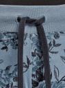 Брюки трикотажные спортивные oodji для женщины (синий), 16700030-5B/46173/7425F
