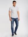 Рубашка принтованная с коротким рукавом oodji #SECTION_NAME# (белый), 3L410095M/39312N/1075G - вид 6