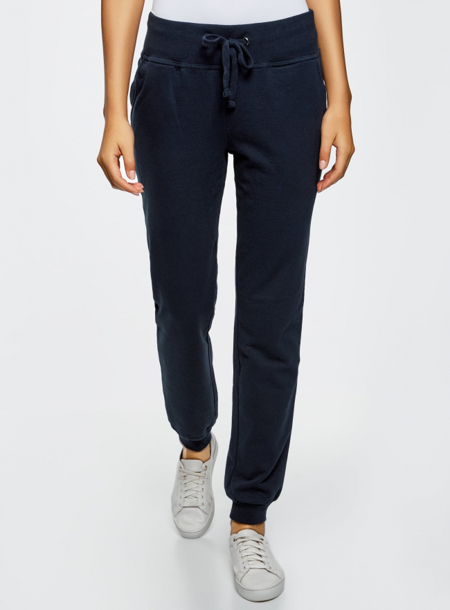 Комплект трикотажных брюк (2 пары) oodji #SECTION_NAME# (разноцветный), 16700030-15T2/47906/19JGN
