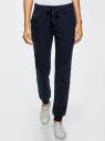 Комплект трикотажных брюк (2 пары) oodji #SECTION_NAME# (разноцветный), 16700030-15T2/47906/19JGN - вид 2