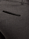 Брюки зауженные с молнией на боку oodji #SECTION_NAME# (серый), 11700209-1/22124/2539C - вид 5