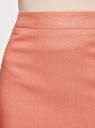 Юбка прямая классическая oodji для женщины (розовый), 21601254-5/45503/3300N