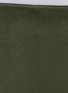 Легинсы из искусственной замши oodji #SECTION_NAME# (зеленый), 18G07099/47301/6800N - вид 4
