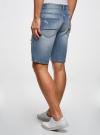 Шорты джинсовые oodji #SECTION_NAME# (синий), 6L220017M/35771/7000W - вид 3