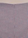 Шорты-трапеция на молнии сбоку oodji #SECTION_NAME# (красный), 11800030-3/46284/4975C - вид 4
