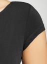 Платье миди с вырезом на спине oodji #SECTION_NAME# (черный), 24001104-5B/47420/2900N - вид 5