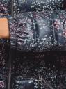 Куртка удлиненная с асимметричным низом oodji #SECTION_NAME# (черный), 10203056-2B/42257/2919F - вид 5