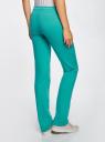 Комплект трикотажных брюк (2 пары) oodji #SECTION_NAME# (разноцветный), 16700045T2/46949/2 - вид 3