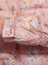 Куртка стеганая с круглым вырезом oodji для женщины (розовый), 10203072B/42257/4B19F - вид 5