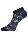 Комплект носков с двойной резинкой (6 пар) oodji для женщины (разноцветный), 57102703T6/47469/15