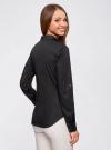 Рубашка базовая с нагрудными карманами oodji #SECTION_NAME# (черный), 11403222B/42468/2900N - вид 3
