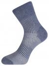 Комплект из трех пар спортивных носков oodji для женщины (синий), 57102811T3/48022/17