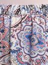 Юбка вискозная с принтом oodji #SECTION_NAME# (розовый), 11606036/33573/4B75E - вид 4