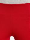 Легинсы с широким поясом oodji #SECTION_NAME# (красный), 18700047/37809/4500N - вид 4
