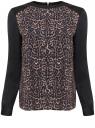 Блузка oodji для женщины (бежевый), 21411102/45056/3529A