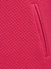 Платье трикотажное с рукавом 3/4 oodji для женщины (розовый), 24001100/42408/4D00N - вид 5