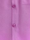 Топ вискозный с нагрудным карманом oodji для женщины (красный), 11411108B/26346/4C00N - вид 5