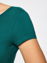 Платье миди (комплект из 2 штук) oodji #SECTION_NAME# (разноцветный), 24001104T2/47420/19NHN - вид 5