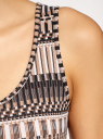 Майка женская oodji для женщины (черный), 24315001B/46147/2933O