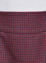 Юбка короткая с карманами oodji #SECTION_NAME# (красный), 11605056-2/22124/7943C - вид 5