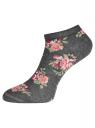 Комплект укороченных носков (6 пар) oodji #SECTION_NAME# (разноцветный), 57102433T6/47469/43 - вид 3