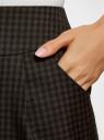 Юбка короткая с карманами oodji #SECTION_NAME# (зеленый), 11605056-3/45839/2966C - вид 5