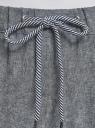 Брюки на завязках oodji для женщины (серый), 11710001/49284/7912N