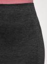 Юбка-карандаш трикотажная oodji #SECTION_NAME# (серый), 14100068-5B/46944/2500M - вид 4