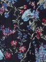 Блузка принтованная из легкой ткани oodji #SECTION_NAME# (синий), 21407022-9/12836/7947F - вид 3