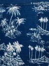 Брюки трикотажные на завязках oodji для женщины (синий), 16701042/46919/7930G - вид 5