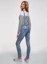 Комбинезон джинсовый с нагрудным карманом oodji #SECTION_NAME# (синий), 13108004/45379/7500W - вид 3