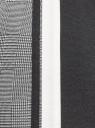 Платье облегающего силуэта с лампасами oodji #SECTION_NAME# (черный), 14011066/49534/2912G - вид 5