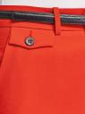 Брюки классические со стрелками oodji для женщины (красный), 21706031/42314/4500N