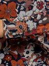 Платье прямого силуэта из струящейся ткани oodji #SECTION_NAME# (коричневый), 11900150-13/13632/3137F - вид 5