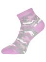 Комплект из трех пар укороченных носков oodji для женщины (разноцветный), 57102418T3/47469/28