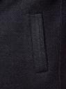 Пальто однобортное oodji #SECTION_NAME# (синий), 1L314012M/50219N/7975M - вид 5