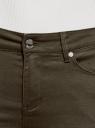 Джинсы skinny базовые oodji для женщины (зеленый), 12106141/45999/6900N