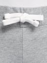 Брюки спортивные с завязками oodji #SECTION_NAME# (серый), 16701010-7B/46980/2001M - вид 4