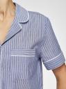 Рубашка домашняя из хлопка oodji #SECTION_NAME# (синий), 59808021/49806/7510S - вид 5