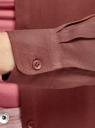 Блузка базовая из вискозы oodji для женщины (красный), 11411136B/26346/4901N