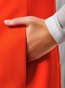 Жилет удлиненный с декоративными пуговицами oodji #SECTION_NAME# (красный), 22305001-3/46415/4500N - вид 5