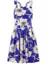 Платье oodji для женщины (синий), 21900325-1/42847/7510F