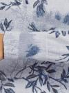 Джемпер вязаный принтованный oodji #SECTION_NAME# (серый), 63812674/49880/2075F - вид 5