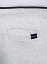 Брюки трикотажные на завязках oodji для мужчины (серый), 5B210004M/48823N/2009M